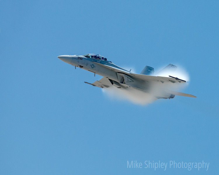 F18 going supersonic