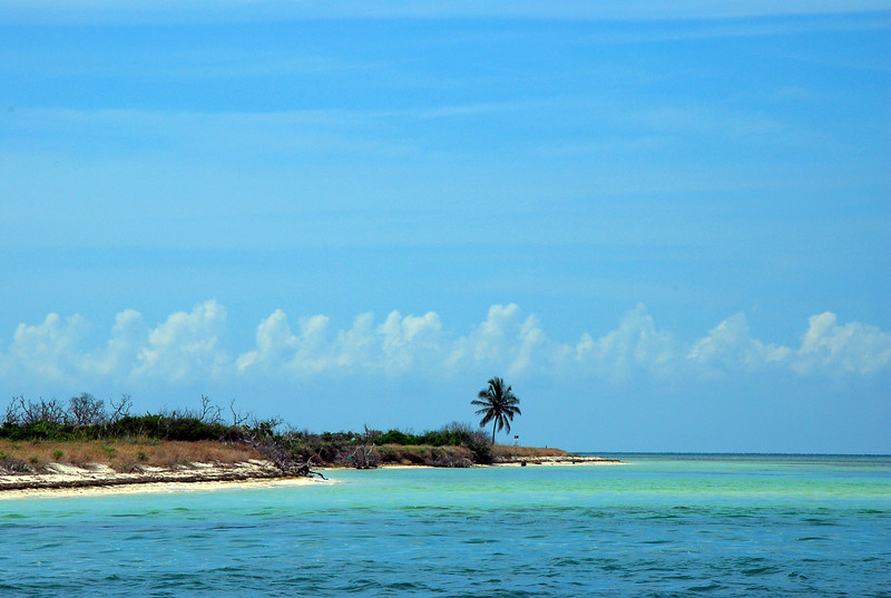The Beach at Boca Grande Key.  This is 11 miles west of the Key West Harbor.