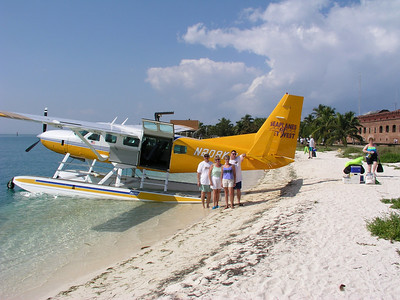 Seaplane trip to Fort Jefferson National Park west of Key West.
