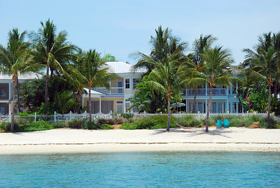 Sunset Key is a private island just 1/4 mile from the Key West Harbor and this is their private beach.  NIce!