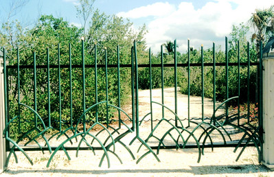 Mangrove Fence gate