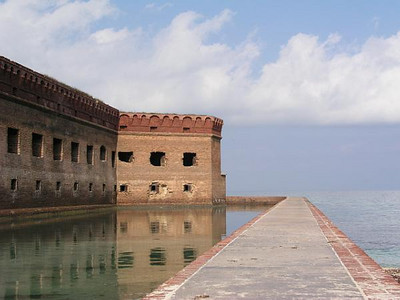 Fort Jefferson National Park.  Located 70 miles west of Key West.