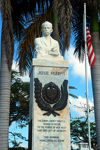 Jose Marti monument in Bayview Park