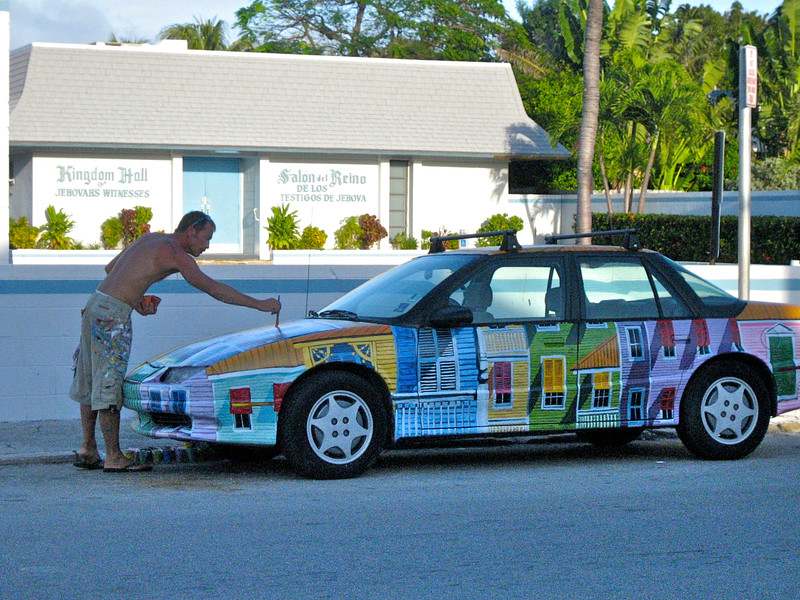 Key West Paint job