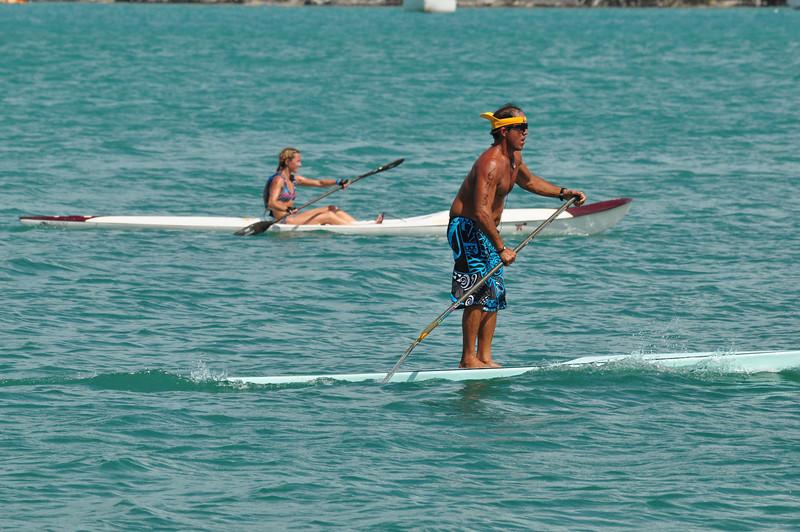 Paddleboard race