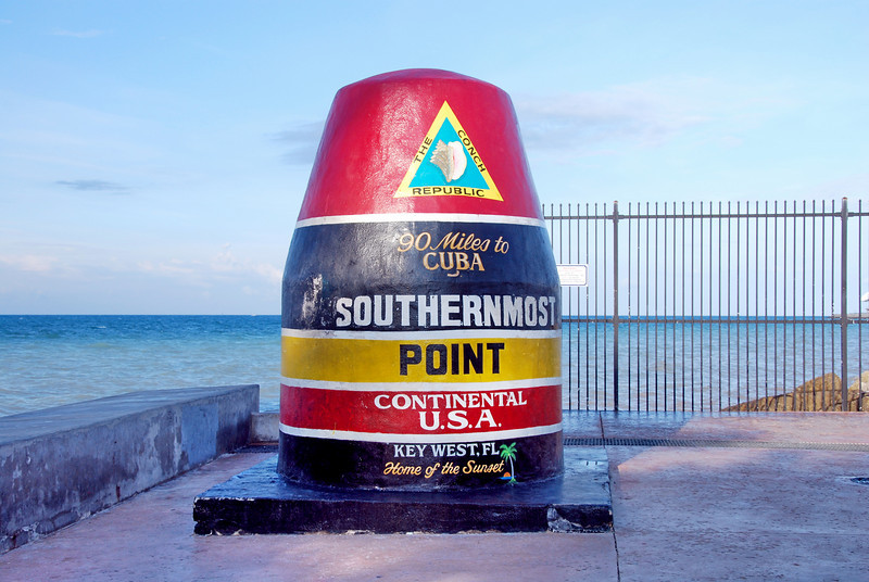Southernmost Point in the continential United States