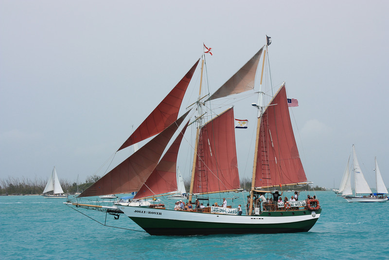 The Schooner Jolly Rover
