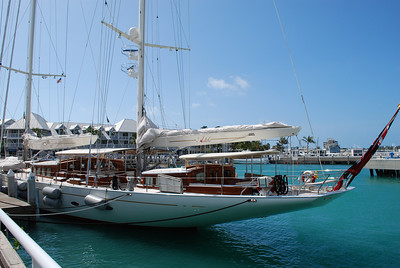 The Adele sailing yacht is 180 feet with a 203 foot main mast and accommodates twelve.