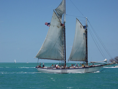 Sailboat rides in Key West.