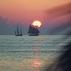 Sunset sails.