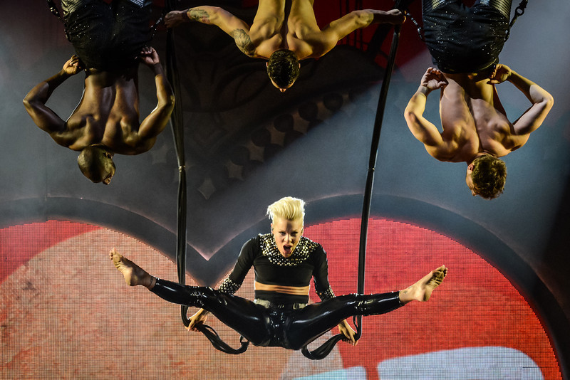 P!NK  at the KeyArena in Seattle.