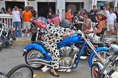 These photos are from the Poker Run in September 2010 and it seemed to be an unusually different group this year.