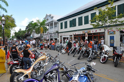 The annual Miami/Key West Poker Run for 2010 again saw many unique and wonderful motorcycles for the two-day event which is always a welcomed infusion of business in the slow month of September.