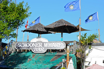 Schooner Wharf Far.  The major promoter of the Minimal Regatta event.