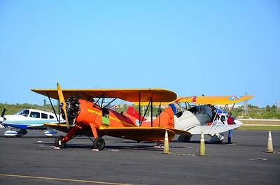1940 Waco UPF-7 and a 1942 Waco UPF-7