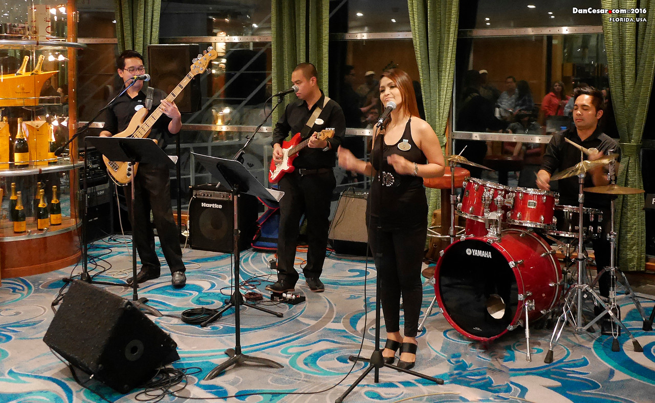 Manila Soul performing on NCL Sky