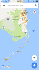 Google Map of our location