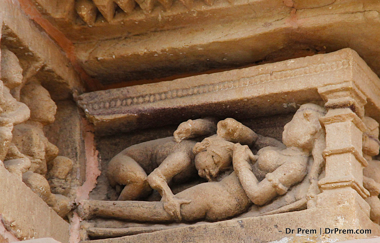 Kamasutra Position in Khajuraho