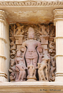 Khajuraho, India was the capital of Chandela king from 9th to 11th Century. Images of seven temples of Khajuraho tells us about the social structure and life of people of Chandela dynasty. The craftsmanship of the temple is worth laurels endlessly.