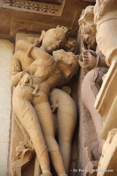 Erotic motive of the architectures are not only showing sensuality but it is considered as alankara or beauty of the temple with a protective and auspicious mindset.