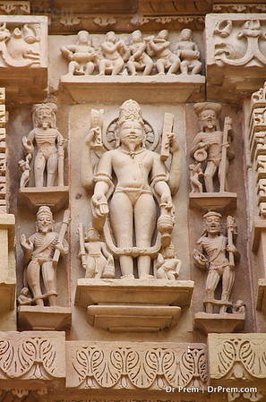 The Gods At Khajuraho Look Upon Us From Above