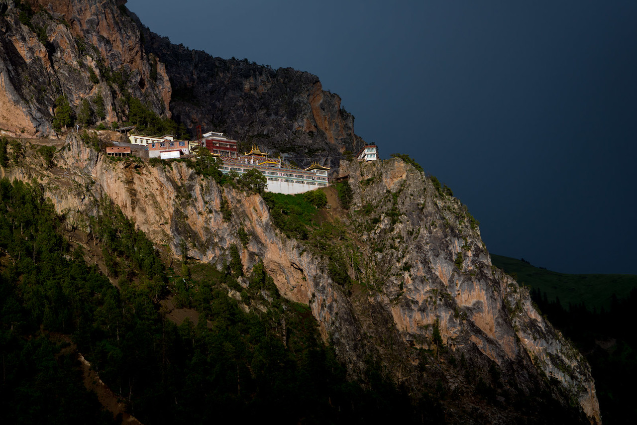 After the rain. Gar Monastery.