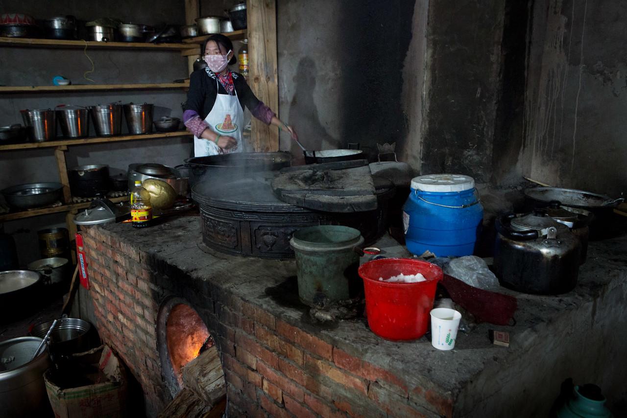 Nunnery kitchen. Gar Nunnery.