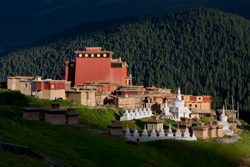Pelpung Tubden Chokhorling Monastery (Babang Si), Kham (Sichuan)
