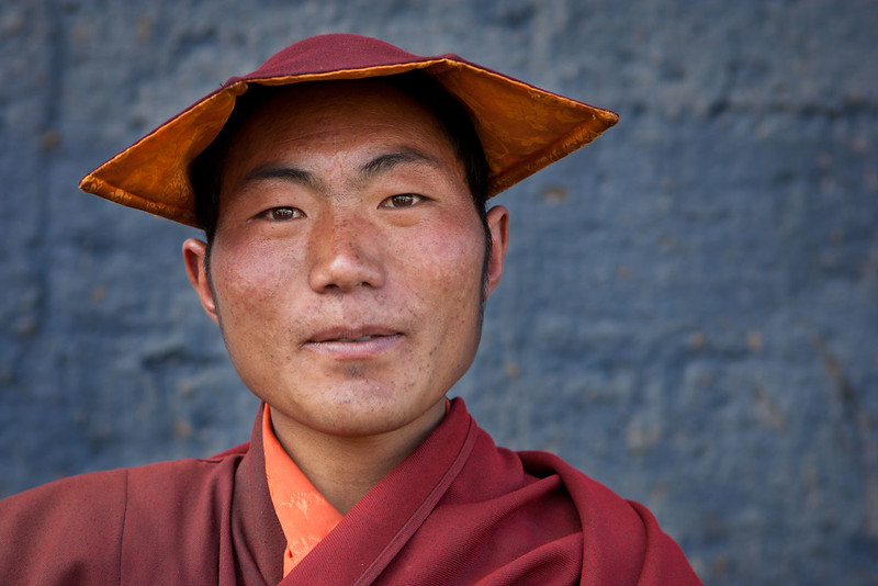 Monk, Manigango Monastery, Kham (Sichuan)