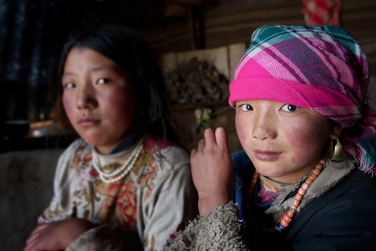 Nomad tent. Zeku, Tsekok, Amdo (Qinghai)