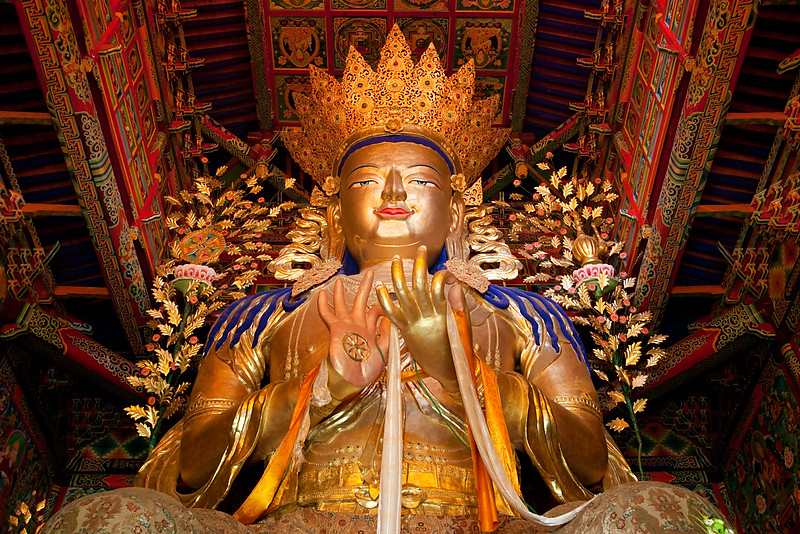 Rongpo Gonchen Monastery, Repkong (Tongren), Amdo (Qinghai)