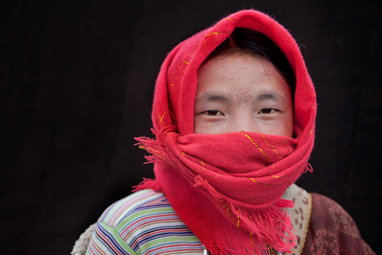 Nomad camp. Just ouside Zeku, Tsekok, Amdo (Qinghai)
