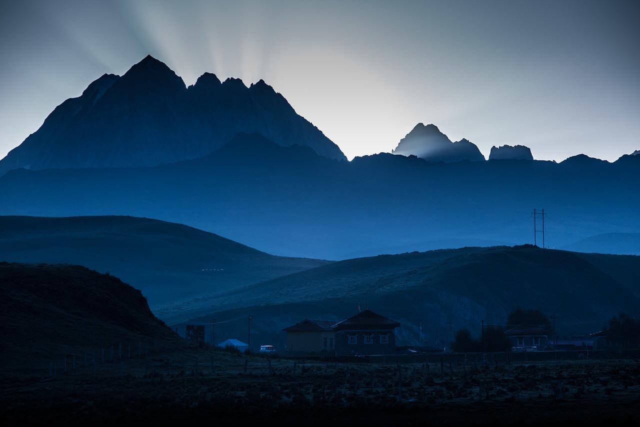 Mt. Zhara Lhatse, Lhagang (Tagong)