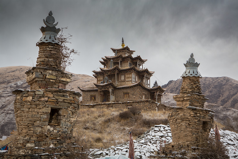 Old gompa , Banma