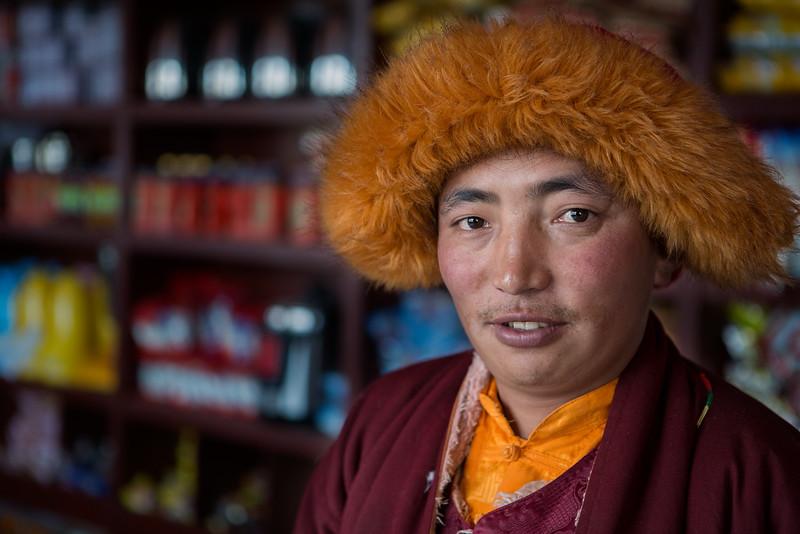Shopkeeper, Yarchen Monastery
