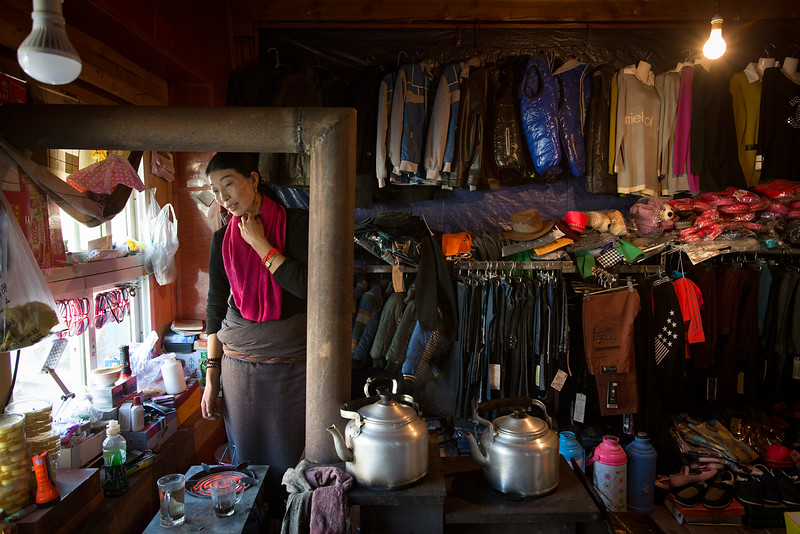Shop, Pelpung village