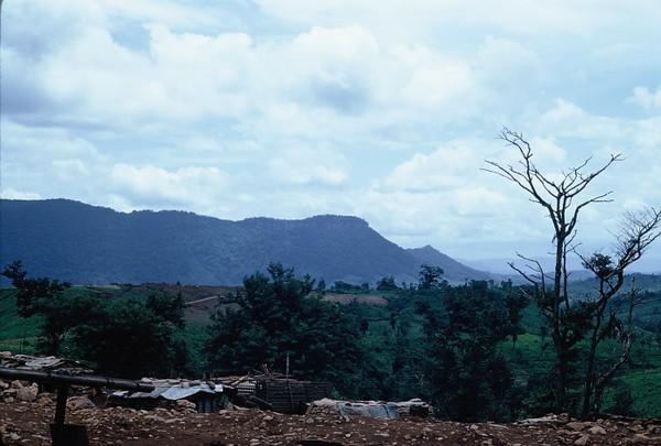 Lang Vei Looking Toward Laos-1967