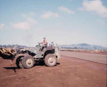 Building the airstrip-Khe Sanh 1966