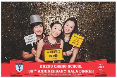 Kheng Cheng School 90th Anniversary Gala Dinner | © www.SRSLYPhotobooth.sg