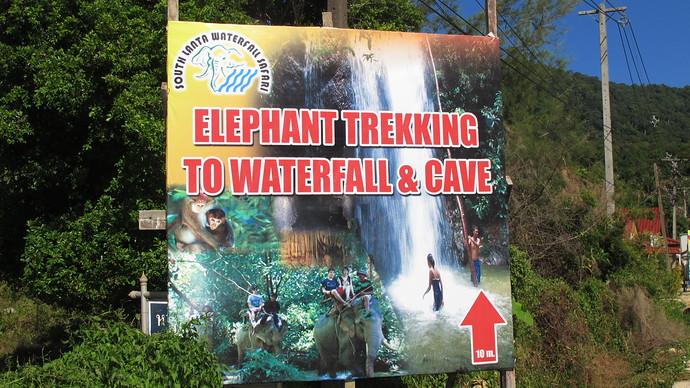 Klong Jark Elephant Ride