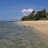 Khlong Khong Beach Koh Lanta with beautiful clear waters