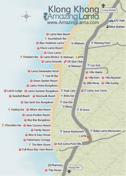 Klong Khong Map, Koh Lanta