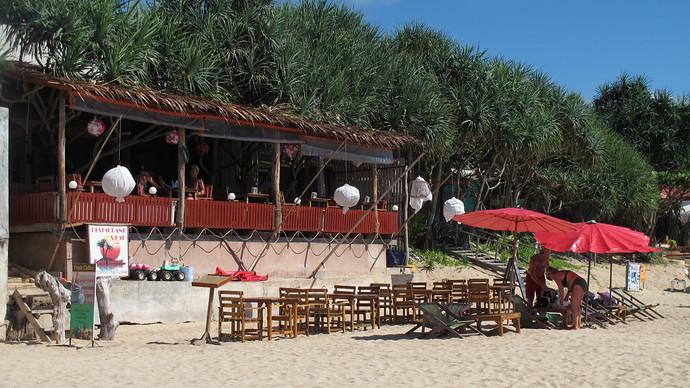 Oasis Restaurant Klong Nin Beach