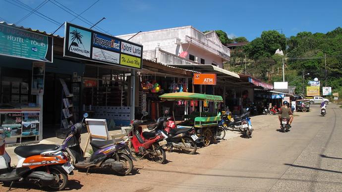 Klong Nin shopping area