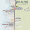 Klong Nin Beach Map with Klong Nin Beach Apartments location highlighted