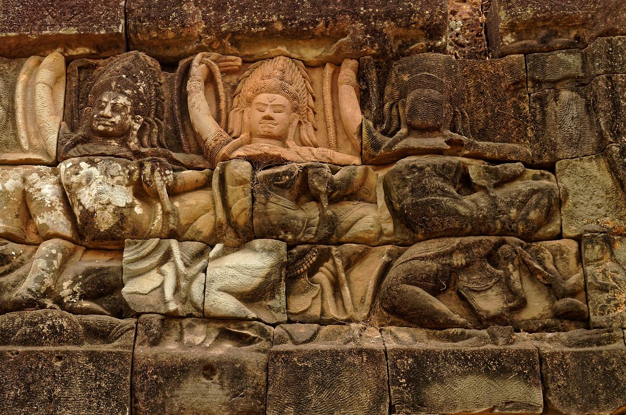<i>Apsaras,</i> heavenly dancers