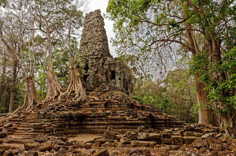 Preah Palilay's tower