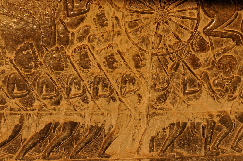 Detail from the Battle of Kurukshetra, from the Hindu classic <i>Mahabharata</i>