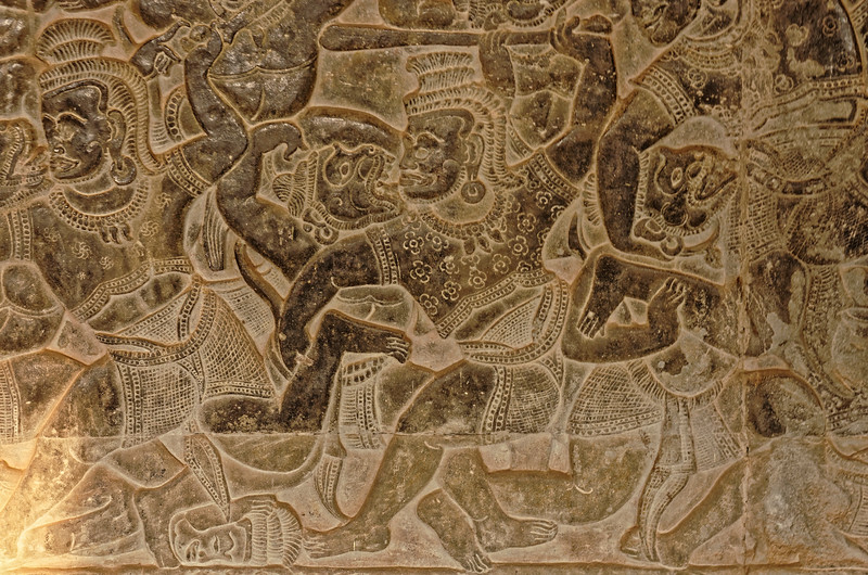 Another detail from the Battle of Lanka