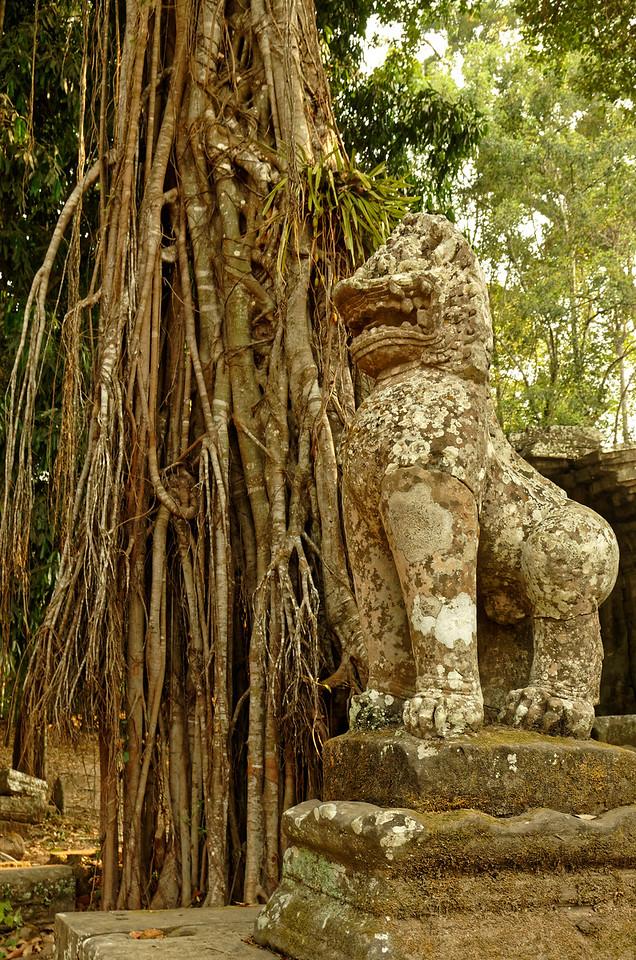 Temple-guardian lion